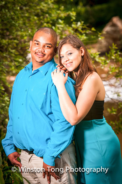 Ola & Zaine Engagement at Walter Sisulu Botanical Gardens