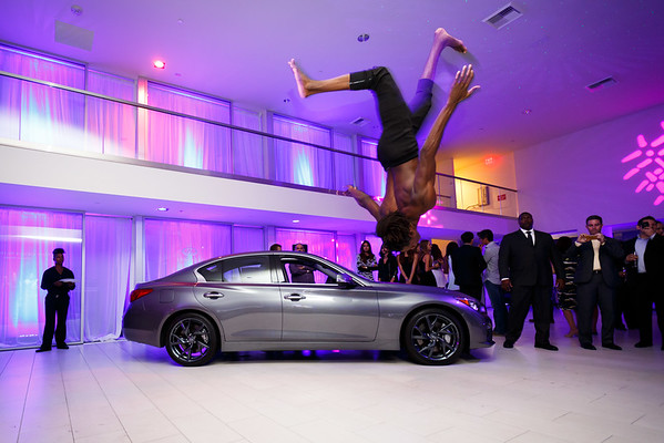 Infiniti of Beverly Hills Grand Opening Party on Thursday October 9th, 2014. Sean Twomey / 2me Studios