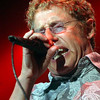 Roger Daltrey lead singer with legendary rock band The Who belts out the opening song to start off their new  U.S. concert tour (***I THINK IT'S THE FRIST US CONCERT, I'M NOT SURE***) in Honolulu, Hawaii Aug. 3, 2004.  The rock band will continue it's tour playing at the Shoreline Amphitheatre Aug. 7, 2004  and the Hollywood Bowl, in Los Angeles, California Aug ,. 9, 2004.  The group is touring with Ringo's Starr's son as drumer (SORRY I DON'T KNOW HIS NAME)  REUTERS/Lucy Pemoni