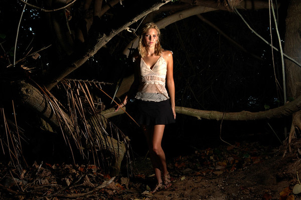 """Maggie Grace,  one of the stars of ABC's new hit series """"Lost"""" and movies  'Twilight and 'Taken''  and in the broadway show 'Picnic"""" the beach at the Kahala Mandarine Oriental Hotel in Honolulu, Hawaii, Thursday, Aug, 18, 2005. LUCY PEMONI FOR USATODAY."""