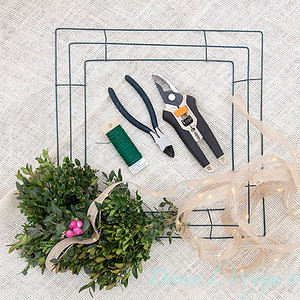How to make a wreath_904