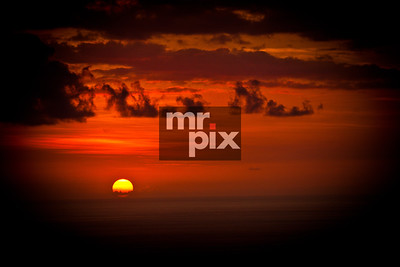 Hawaiian sunset. Environment, Landscapes - shooting images on the big island