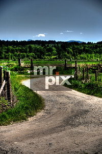 Farmland and a old country road in the Snoqualmie Valley. landscape and lifestyle photography
