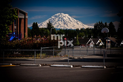 Mount Rainier - Urban Landspaces by Michael Moore Photography - MrPix.com