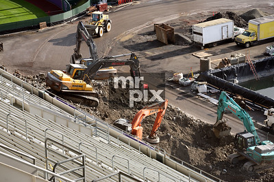 Husky Stadium Renovation Industrial Photography. Environment - Industrial Photography