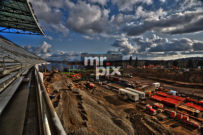Husky Stadium Renovation Industrial Photography