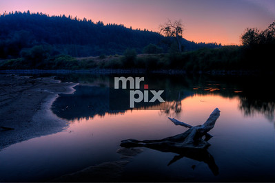 Snoqualmie RIver at sunset