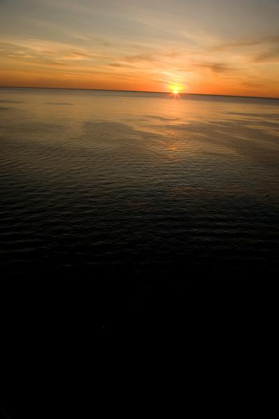 Sunset on Baja California