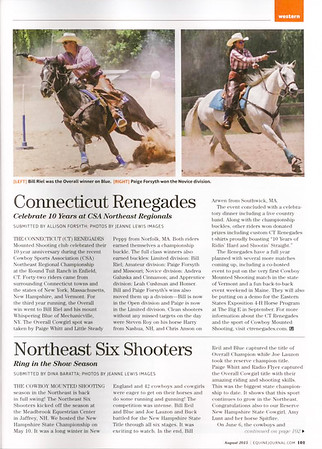 Equine Journal, August 2015, page 1