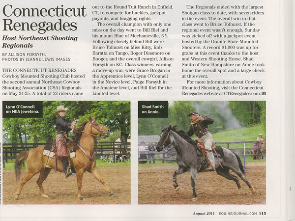 Equine Journal, August 2014