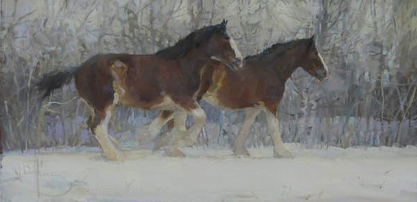 Some Like it Cold 12x24 PRIVATE COLLECTION