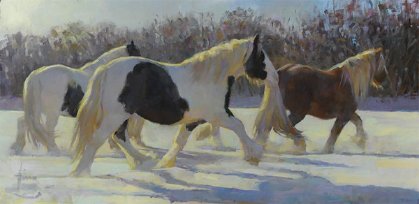 Winter Coats 18x36  PRIVATE COLLECTION