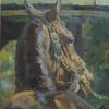 Keeneland Paddock 16x20