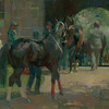 To the Keeneland Paddock 12x16 Private Collection