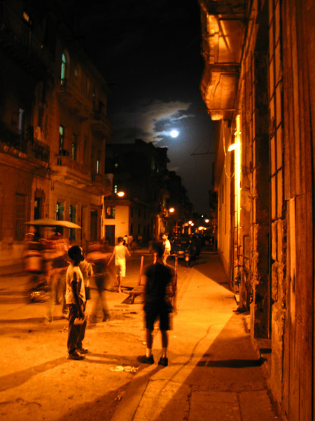 Animas Street, Havana, Cuba