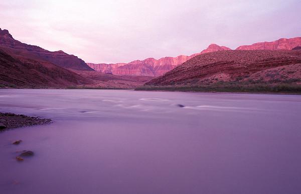 Colorado River at Unkar, Grand Canyon