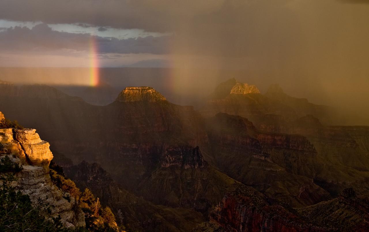 North Rim Rainbow
