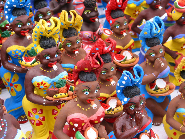 Cigar Smoking Dolls, Havana, Cuba