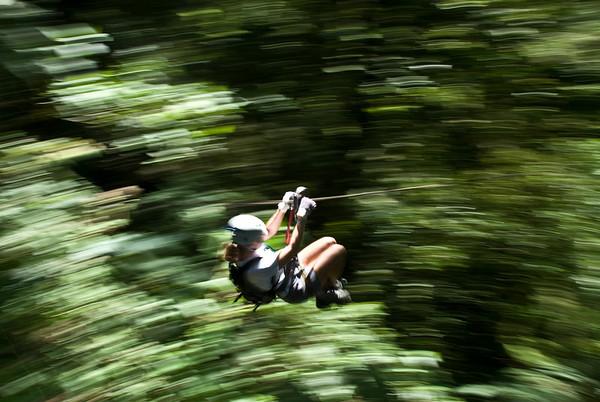 Cloud Forest Zipline, Monteverde, Costa Rica