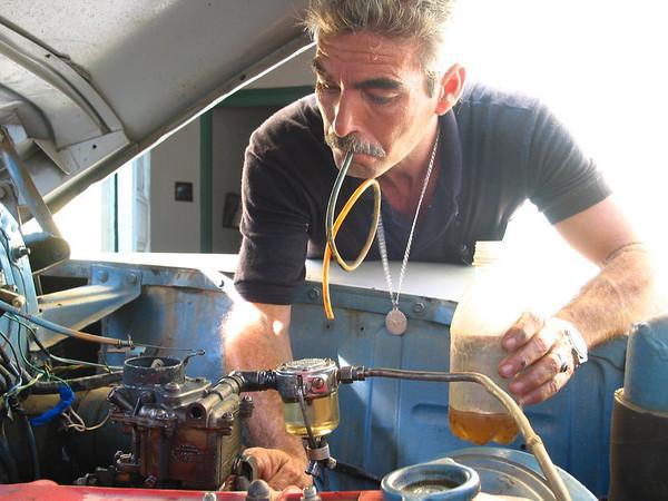 Working on the Car, Trinidad, Cuba