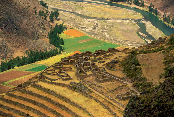 Inca Terraces, Peru