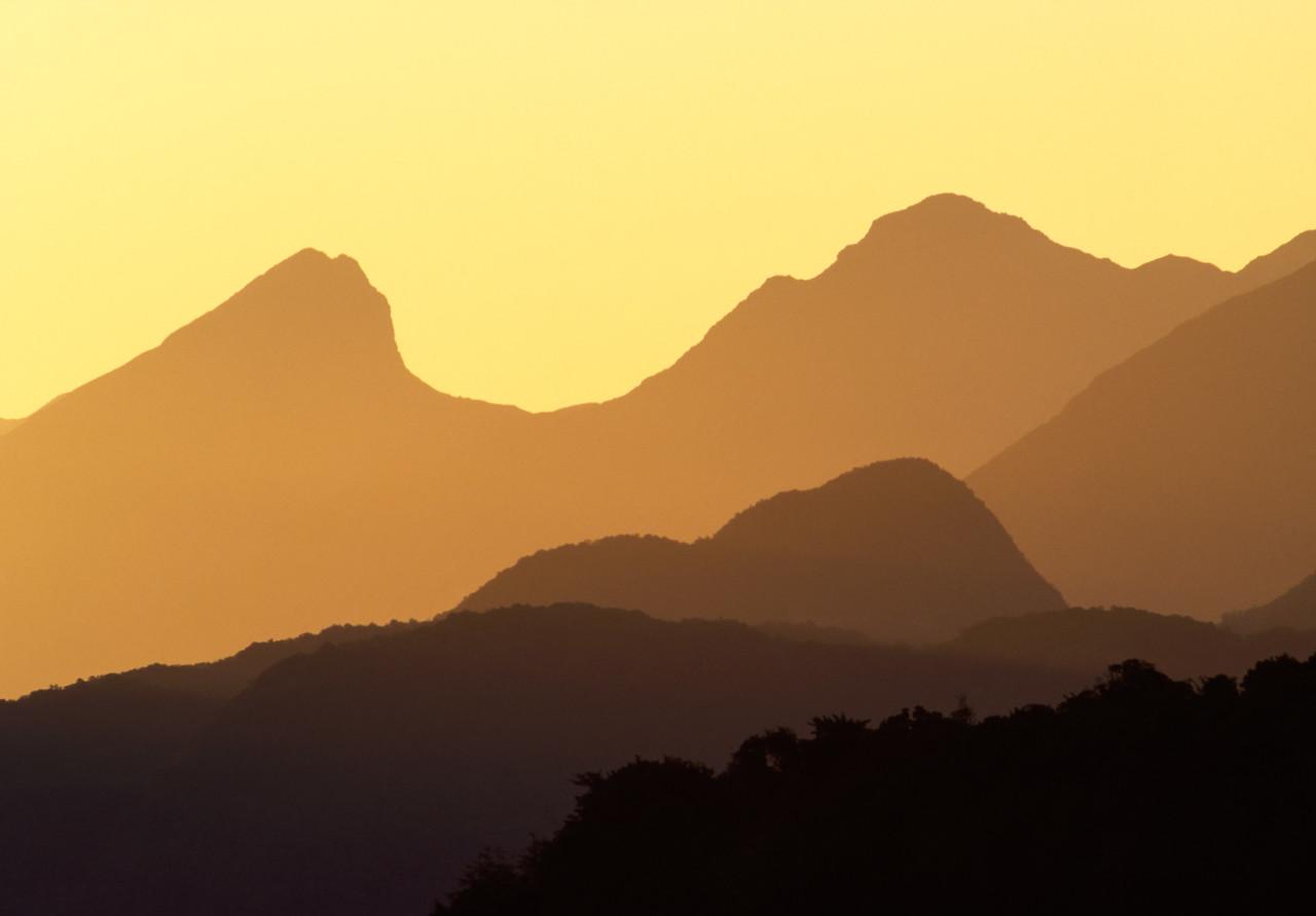 Kepler Range Sunset, New Zealand