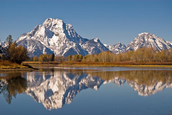 Mount Moran, Grand Tetons, Wyoming