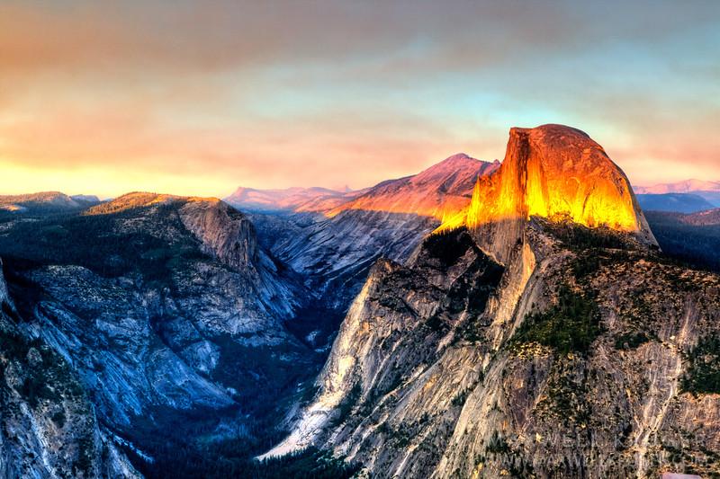 Half Dome<br>Yosemite