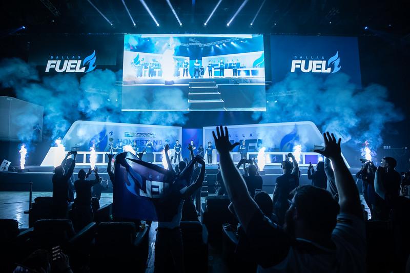 Dallas Fuel entrance