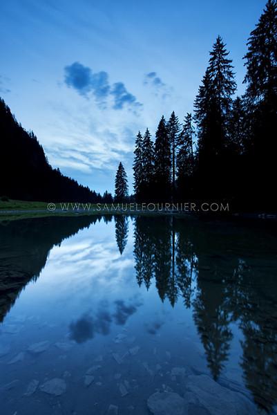 Lac de Coudré - Fribourg - Août 2013