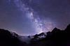 Glacier de Moiry et la Voie Lactée - Valais - Juillet 2015