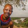 The Kara Girl from Kolcho (Omo Valley, Ethiopia)