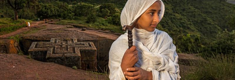 Pilgrimage to Bete Giyorgis (Lalibela, Ethiopia)