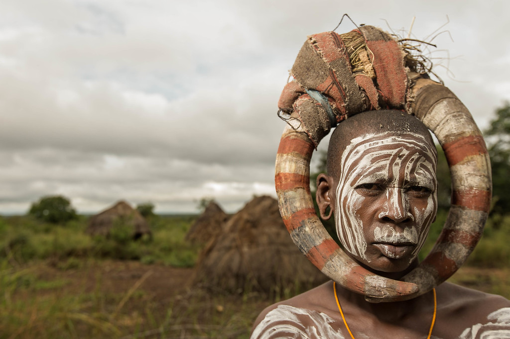 The Mursi Woman (Omo Valley, Ethiopia)
