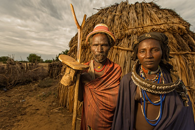 The Arbore Elders (Omo Valley, Ethiopia)