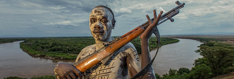 The Kara Warrior from Kolcho (Omo Valley, Ethiopia)