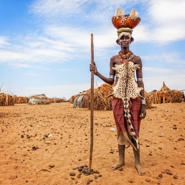 Dassanech Tribe Elder from Omorate (Omo Valley, Ethiopia)
