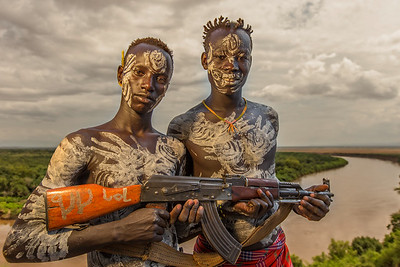 The Kara Brothers from Kolcho (Omo Valley, Ethiopia)