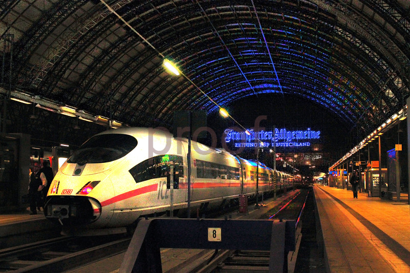 Frankfurt train station, Germany