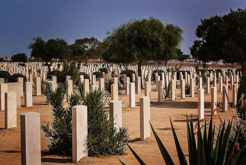 Commonwealth Cemetery, El Alamein, Egypt