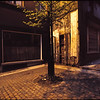 Brussels by night. Belgium 1983. Original Fine Art Documentary Photograph by Michel Botman and Dominique Bataille ©