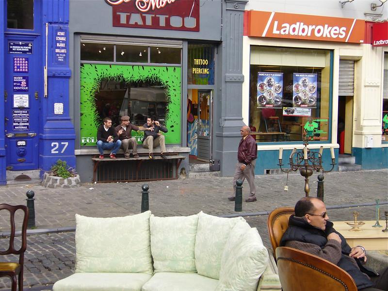 Bruxelles, Marché aux Puces (2006) © Copyrights Michel Botman Photography