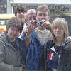 Self portrait with my friends Dominique, Michelle, Céline and François, Bruxelles, Marché aux Puces (2006) © Copyrights Michel Botman Photography