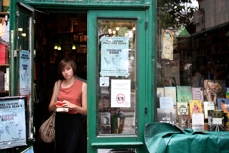 Shakespeare and Company, Paris, France (2011) © Copyrights Michel Botman Photography