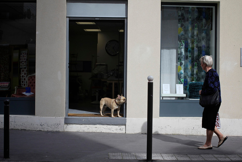 Quartier des Buttes Chaumont, Paris, France (2011) © Copyrights Michel Botman Photography