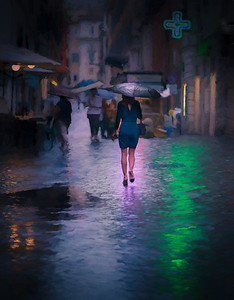 A Rainy Day In Rome