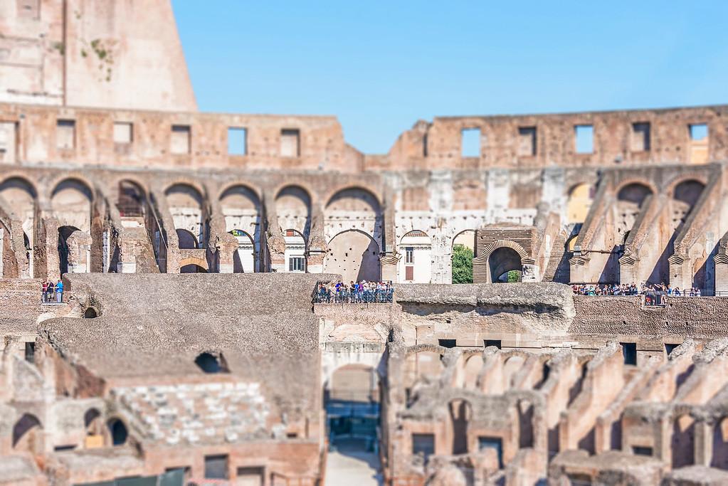 The Coliseum Inside - Rome, Italy
