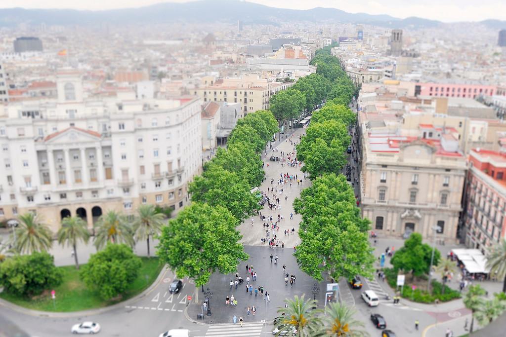Las Ramblas - Barcelona, Spain