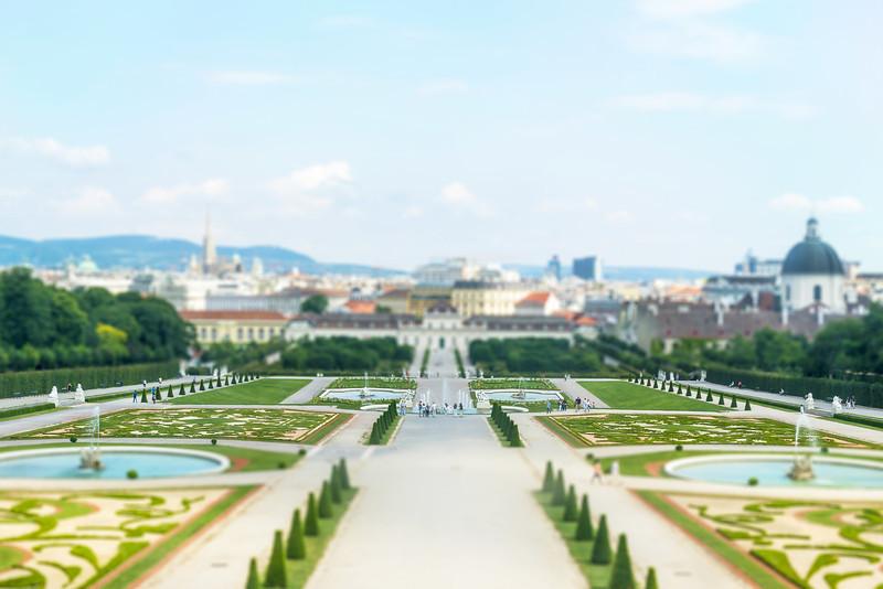 Belvedere Palace-Vienna, Austria