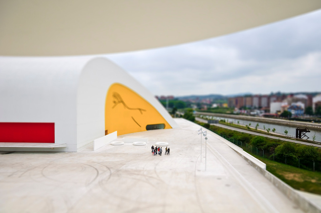 Oscar Niemeyer International Cultural Centre- Avilés, Asturias, Spain